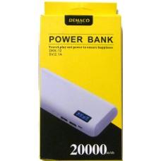 Power Bank Demaco DKK-12  20000 mAh