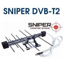 Антенна комнатная Sniper DVB-T2